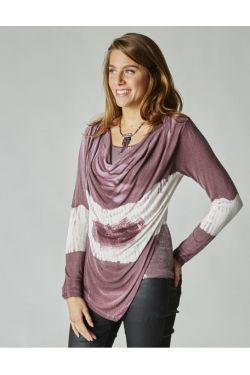 cowl neck 2 tons sweater
