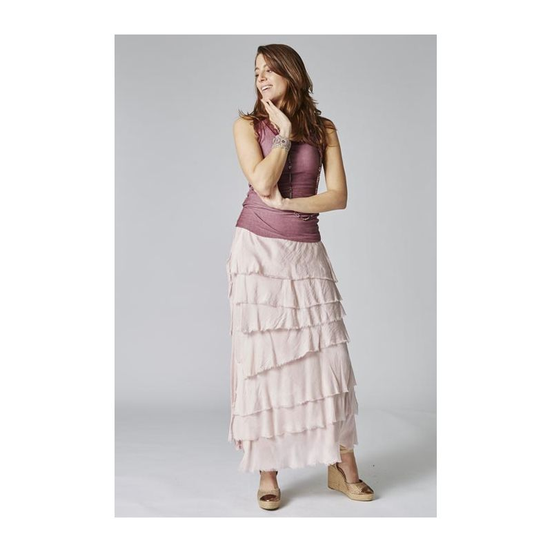 Uni dress layered ruffle