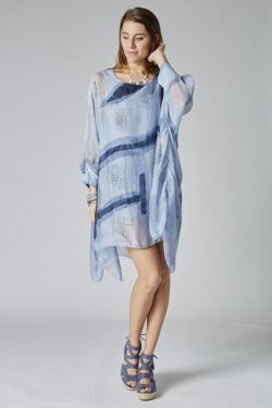 Abstract printed Tunic