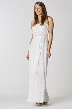 Long bandeau dress