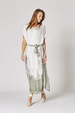Long silk dress T/D