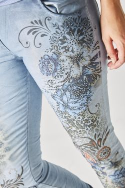 NEW Printed pants with...