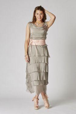 Layered splash Dress