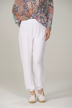 Silk Pants, Ankle band