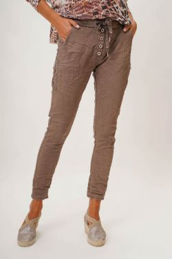 Button and Zip Jegging