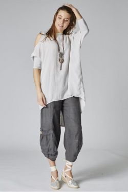 Pants lower big pockets
