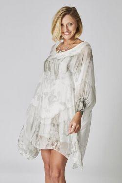 T/D silk tunic/dress