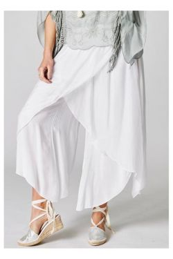 Large silk pants